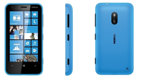 Nokia Llumia 620 price & specifications